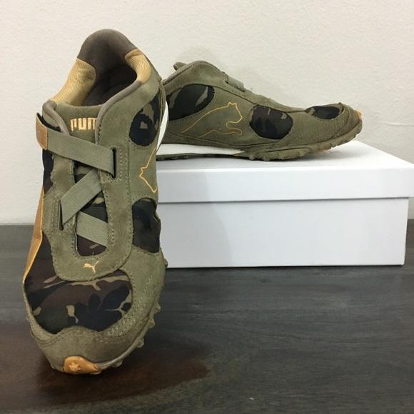 Puma Shoes | Camo Sneakers | Poshmark